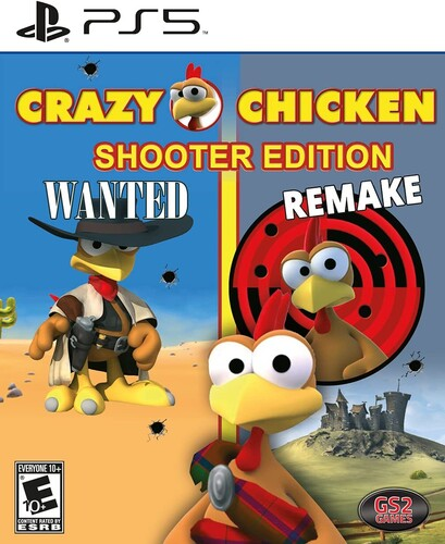 Crazy Chicken Shooter Edition for PlayStation 5