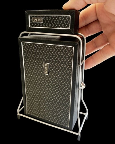 VOX AC-100 MINI GUITAR AMP HEAD & CABINET