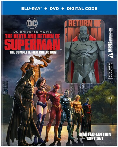 Death And Return Of Superman: The Complete Film Collection Giftset