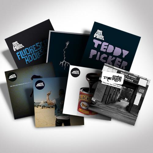 Arctic Monkeys 7-inch Single Bundle