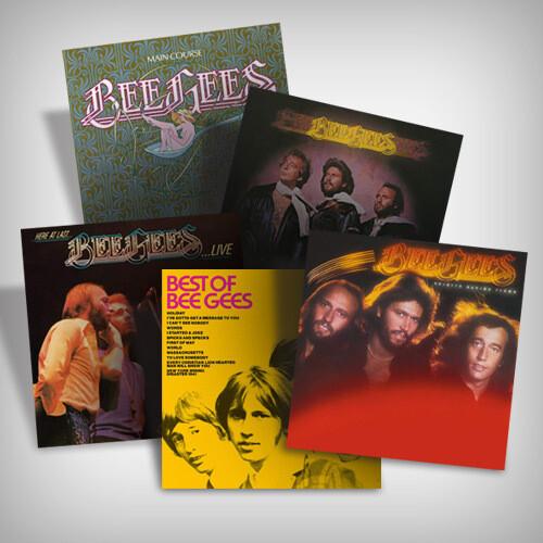 Bee Gees Vinyl Bundle