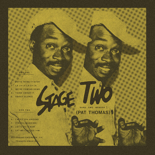 Pat Thomas - Stage Two (Clear Wax Vinyl)