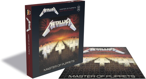 - Metallica Master Of Puppets (500 Piece Jigsaw Puzzle)