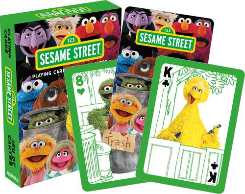 SESAME STREET CAST PLAYING CARDS DECK