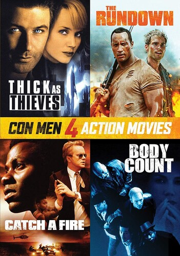 Con Men: 4 Action Movies