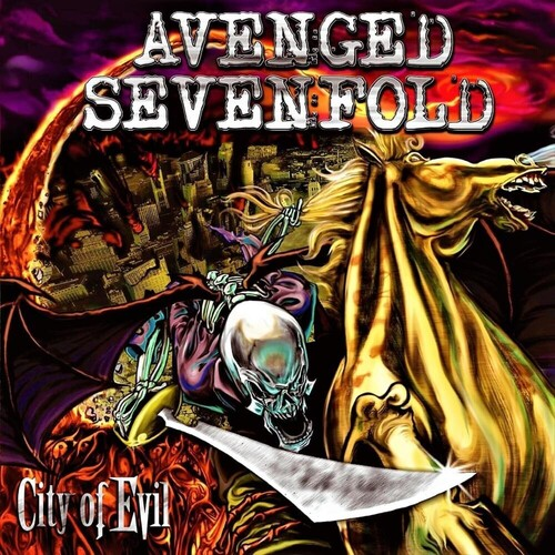 Avenged Sevenfold - City Of Evil (Transparent Red Vinyl) (Red)