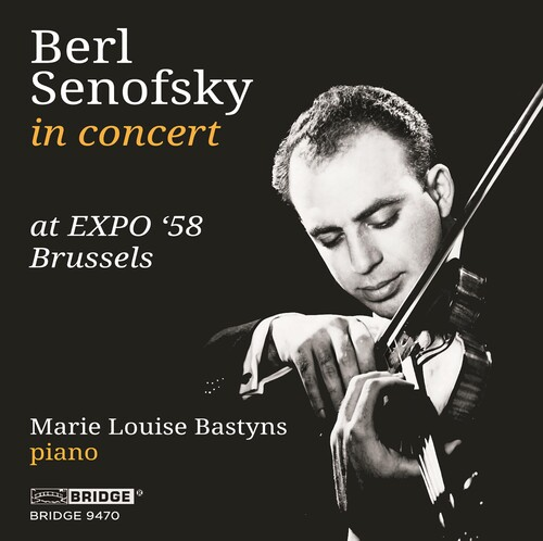 BERL SENOFSKY AT 'EXPO '58 BRUSSELS