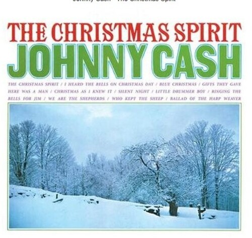The Christmas Spirit - Johnny Cash ‎– 180 Gram Vinyl