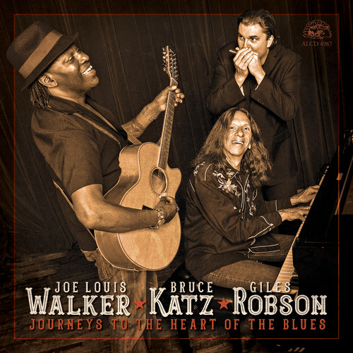 Joe Walker Louis, Bruce Katz and Giles Robson - Journeys To The Heart Of The Blues
