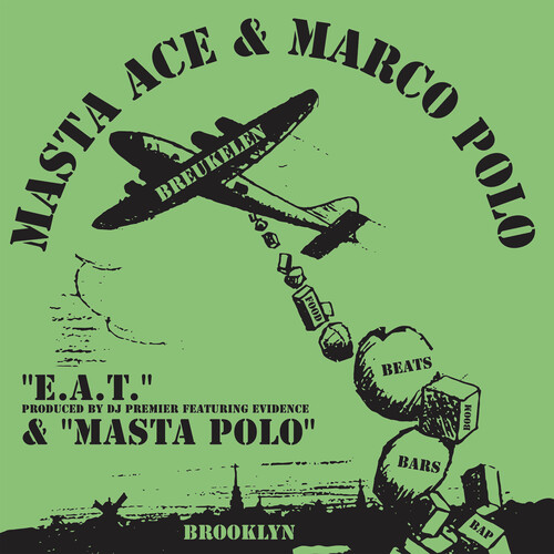 E.A.T. feat. Evidence and produced by DJ Premier b/ w Masta Polo