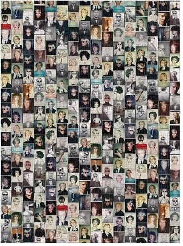 Galison - Andy Warhol Selfies 1000 Piece Puzzle