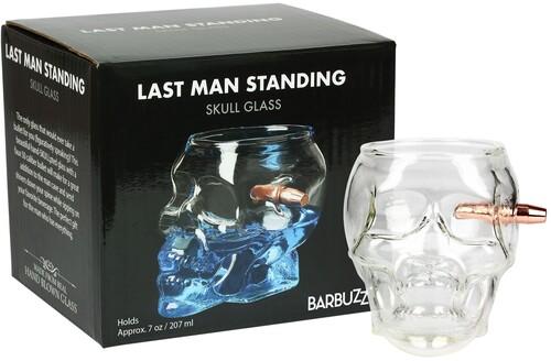 BARBUZZO LAST MAN STANDING - EMBEDDED BULLET SKULL