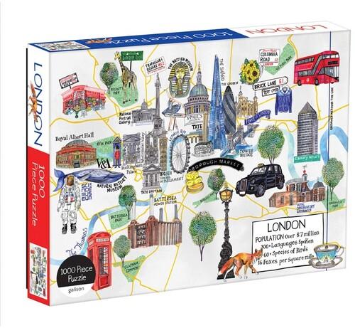 - London Map 1000 Piece Puzzle