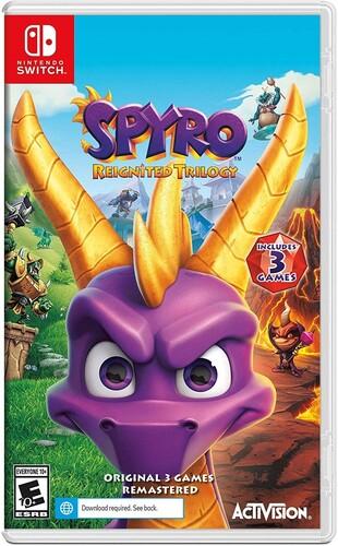 Swi Spyro Reignited Triology - Spyro Reignited Trilogy for Nintendo Switch