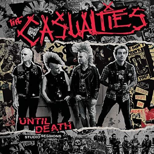 Casualties - Until Death - Studio Sessions [Colored Vinyl]