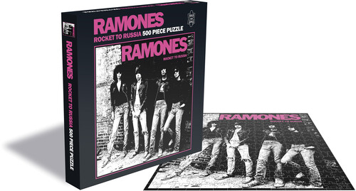 - Ramones Rocket To Russia (500 Piece Jigsaw Puzzle)