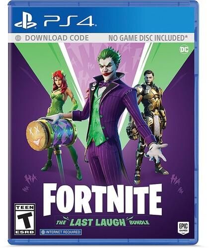Ps4 Fortnite: The Last Laugh Bundle - Fortnite: The Last Laugh Bundle for PlayStation 4