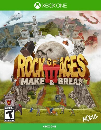 - Rock of Ages 3: Make & Break for Xbox One
