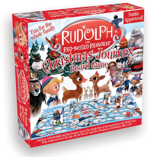 RUDOLPH THE RED-NOSED REINDEER BOARD GAME
