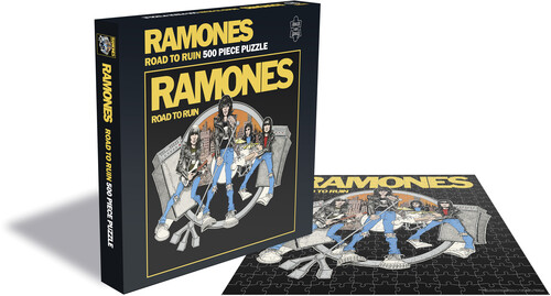 - Ramones Road To Ruin (500 Piece Jigsaw Puzzle)