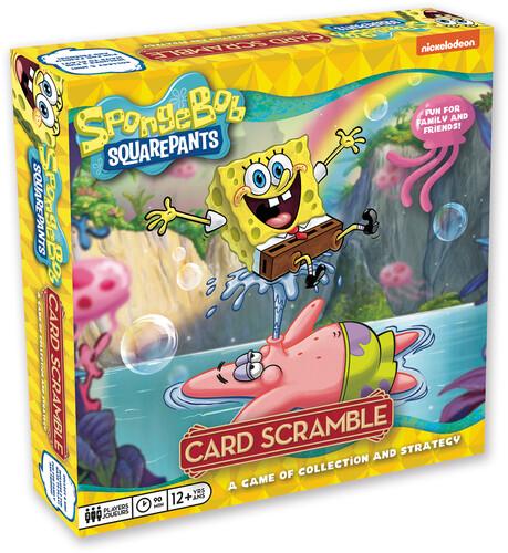 SPONGEBOB SQUAREPANTS CARD SCRAMBLE BOARD GAME