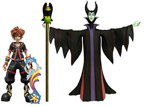 Diamond Select - KINGDOM HEARTS 3 SELECT MALEFICENT & SORA AF