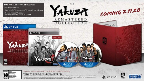 Ps4 Yakuza Remastered Collection - Yakuza Remastered Collection for PlayStation 4