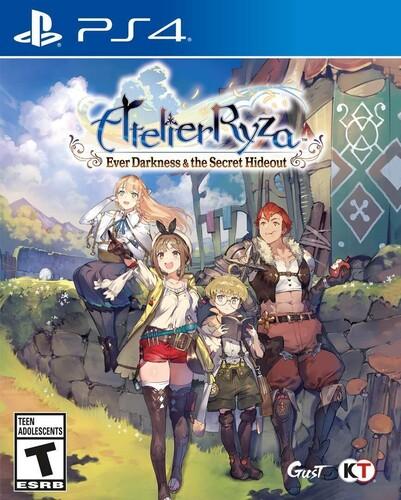 Ps4 Atelier Ryza: Ever Darkness & Secret Hideout - Atelier Ryza: Ever Darkness & Secret Hideout