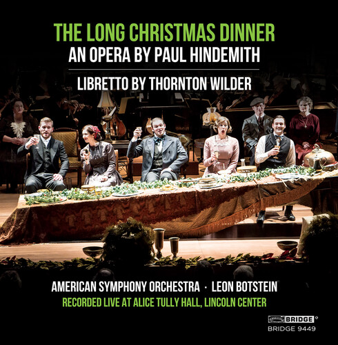 Paul Hindemith: The Long Christmas Dinner