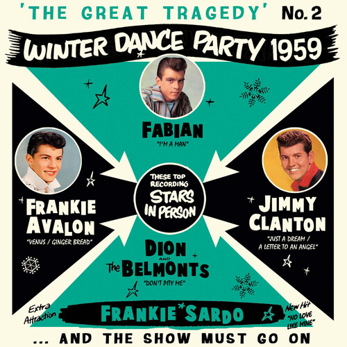 Great Tragedy: Winter Dance Party 1959 Part 2 (Various Artists)