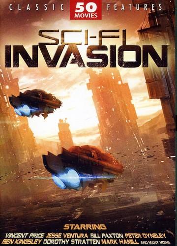 Sci-fi Invasion: 50 Movie Set