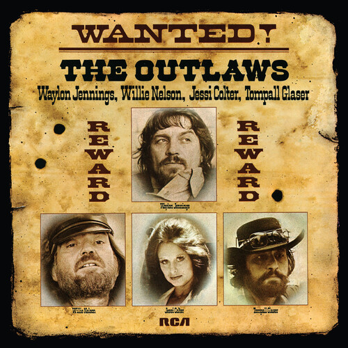 Waylon Jennings / Nelson,Willie / Colter,Jessi - Wanted! The Outlaws [LP]