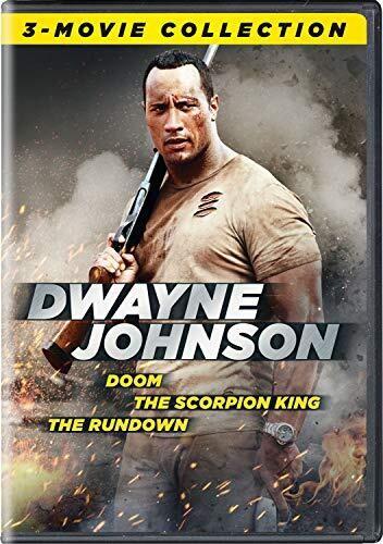 Dwayne Johnson 3-Movie Collection (Doom/ The Scorpion King/ The Rundown)