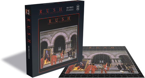 Rush Moving Pictures (500 Piece Jigsaw Puzzle) - Rush Moving Pictures (500 Piece Jigsaw Puzzle)
