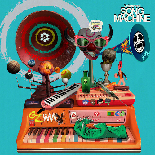 Gorillaz - Song Machine, Season One [Indie Exclusive Limited Edition Neon Orange LP]