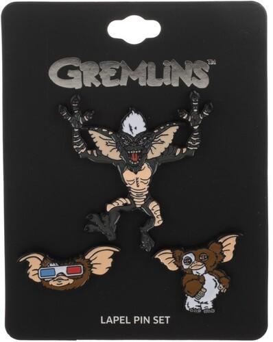 GREMLINS 3 PC LAPEL PIN SET
