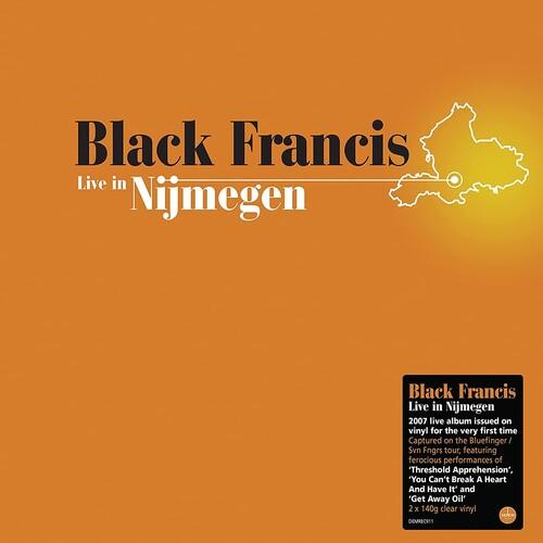 Black Francis - Live In Nijmegen [Clear Vinyl] (Ofgv) (Uk)