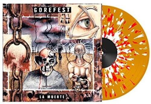 La Muerte (140gm Orange w/  White/ Red Splatter Vinyl) [Import]