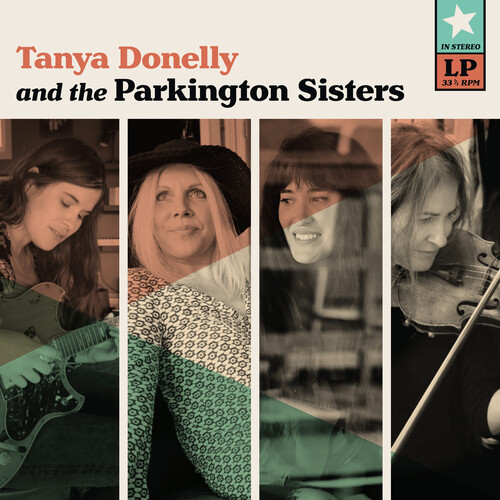 Tanya Donelly & the Parkington Sisters (Teal Colored Vinyl)