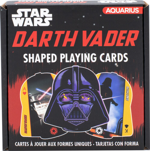 STAR WARS DARTH VADER SHAPED PLAYING CARDS DECK