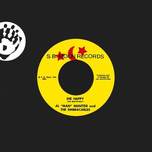 Al 'man' Muntzie / The Embraceables - Die Happy (IEX) (Red Vinyl)