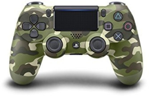 PS4 DS4 WIRELESS CONTROLLER: GREEN CAMO