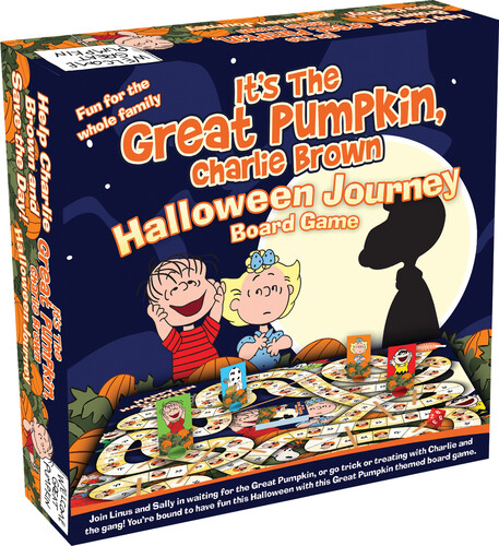 PEANUTS GREAT PUMPKIN BOARD GAME