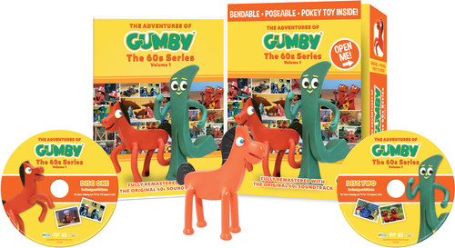 The Adventures of Gumby: The '60s Series: Volume 1 (With Bendable Pokey Toy)