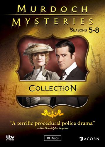 Murdoch Mysteries: Seasons 5-8 Collection