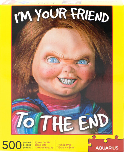 CHUCKY I'M YOUR FRIEND TO THE END 500 PC PUZZLE
