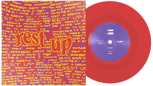 boy pablo - Rest Up [Limited Edition Red Vinyl Single]
