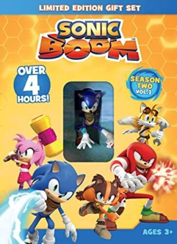 Sonic Boom: Season 2 Volume 1 with Sonic DVD