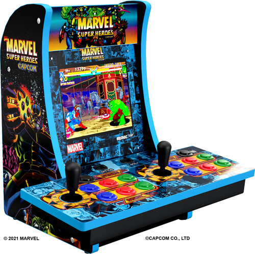MARVEL SUPERHEROES 2 PLAYER CC W/ MARQUEE/ PORT/ HEAD