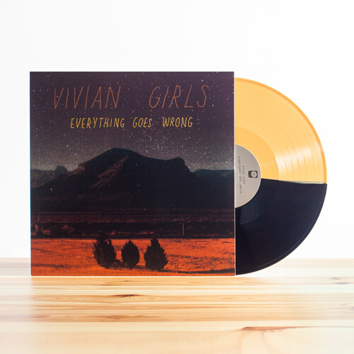 Vivian Girls - Everything Goes Wrong [Colored Vinyl] [180 Gram] [Download Included]